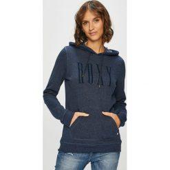 Roxy - Bluza. Szare bluzy damskie Roxy, z nadrukiem, z bawełny. W wyprzedaży za 159.90 zł.