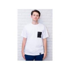 T-shirt 3D(lux) pocket - biała. Czarne t-shirty męskie Desert snow, z bawełny. Za 69.00 zł.