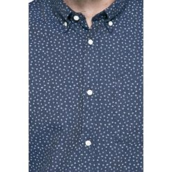 Jack & Jones - Koszula. Szare koszule męskie Jack & Jones, z bawełny, button down, z długim rękawem. W wyprzedaży za 89.90 zł.