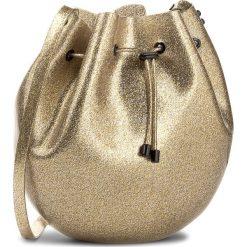 Torebka MELISSA - Sac Bag 34122 Glass Gold Glitter 03586. Żółte torebki do ręki damskie Melissa, w geometryczne wzory, z tworzywa sztucznego. Za 499.00 zł.