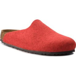 Kapcie BIRKENSTOCK - Amsterdam Bs 1011748  Melange Red. Czerwone kapcie damskie Birkenstock, z materiału. Za 275.00 zł.