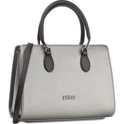 Torebka NOBO - NBAG-D2670-C025 Gun Z Czarnym. Szare torebki do ręki damskie Nobo, ze skóry ekologicznej. W wyprzedaży za 149.00 zł.