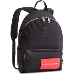 Plecak CALVIN KLEIN JEANS - Sp Essential + Cp Backpack 45 K40K400798 001. Czarne plecaki damskie Calvin Klein Jeans, z jeansu. Za 399.00 zł.