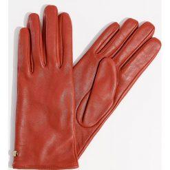 Skórzane rękawiczki - Czerwony. Czerwone rękawiczki damskie Mohito. Za 79.99 zł.