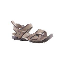 Sandały turystyczne Arpenaz 50 męskie. Brązowe sandały męskie QUECHUA, z gumy. Za 54.99 zł.