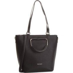 Torebka MONNARI - BAG9910-020 Black. Czarne torebki do ręki damskie Monnari, ze skóry ekologicznej. W wyprzedaży za 199.00 zł.