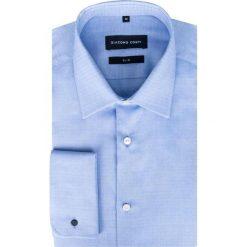 Koszula SIMONE KDNS000278. Niebieskie koszule męskie Giacomo Conti, z bawełny. Za 199.00 zł.