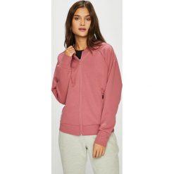 Adidas Performance - Bluza. Różowe bluzy damskie adidas Performance, z bawełny. W wyprzedaży za 199.90 zł.