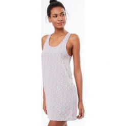 Etam - Koszula nocna Trisha. Szare koszule nocne damskie Etam, z bawełny. W wyprzedaży za 79.90 zł.