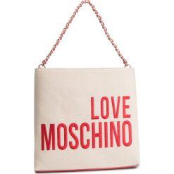 Torebka LOVE MOSCHINO - JC4113PP17LO0107 Naturale. Brązowe torby na ramię damskie Love Moschino. Za 779.00 zł.