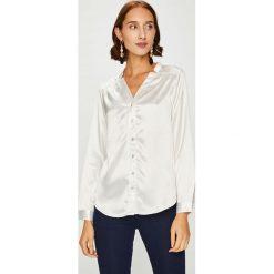 Answear - Koszula Animal me. Szare koszule damskie ANSWEAR, z poliesteru, casualowe, ze stójką, z długim rękawem. W wyprzedaży za 119.90 zł.