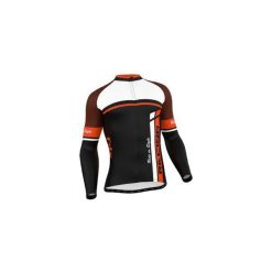 Bluza rowerowa męska FDX Cycling Thermal Long Sleeve Jersey M. Brązowe bluzy męskie FDX, z jersey. Za 219.90 zł.