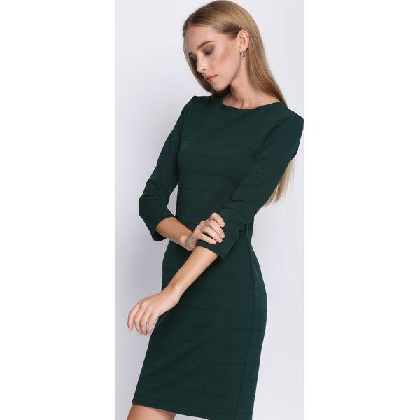 b689fc4530 Ciemnozielona Sukienka Seduce - Sukienki damskie marki Born2be. Za ...