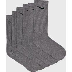 Nike - Skarpetki (6-pack). Szare skarpety męskie Nike, z bawełny. Za 79.90 zł.