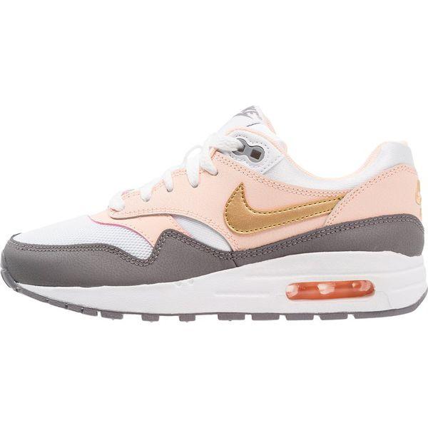 f42ff748657b4 Nike Sportswear AIR MAX 1 Tenisówki i Trampki white/metallic gold ...