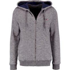 Barbour International™ CYLINDER  Bluza rozpinana slate grey. Kardigany męskie Barbour International™, z bawełny. W wyprzedaży za 567.20 zł.