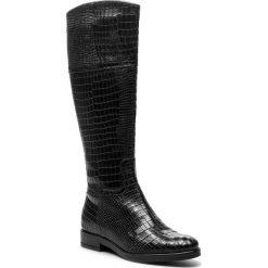 Kozaki SERGIO BARDI - Igea FW127375518KD 601. Czarne kozaki damskie Sergio Bardi, z materiału. W wyprzedaży za 329.00 zł.