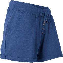 Spodenki dresowe bonprix kobaltowy melanż. Spodnie dresowe damskie marki bonprix. Za 54.99 zł.