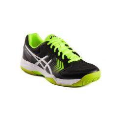 Buty tenisowe Asics Gel Dedicate. Czarne buty sportowe męskie Asics. W wyprzedaży za 179.99 zł.