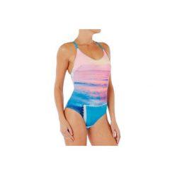 Strój jednoczęściowy pływacki Riana Pool damski. Niebieskie kostiumy jednoczęściowe damskie NABAIJI. Za 79.99 zł.