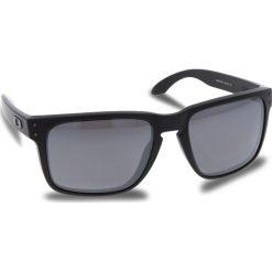 Okulary przeciwsłoneczne OAKLEY - Holbrook Xl OO9417-0559 Mette Black/Prizm Black Polarized. Czarne okulary przeciwsłoneczne męskie Oakley, z tworzywa sztucznego. W wyprzedaży za 649.00 zł.