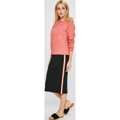 Femi Stories - Bluza Palms. Różowe bluzy damskie Femi Stories, z nadrukiem, z bawełny. W wyprzedaży za 169.90 zł.