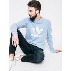 Adidas Originals - Bluza. Szare bluzy męskie adidas Originals, z nadrukiem, z bawełny. W wyprzedaży za 199.90 zł.
