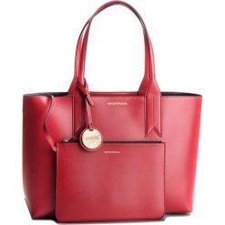 Torebka EMPORIO ARMANI - Y3D081 YH15A 88158 Red/Black. Czerwone torebki do ręki damskie Emporio Armani, ze skóry ekologicznej. Za 689.00 zł.