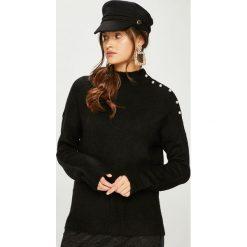 Vero Moda - Sweter Agoura. Czarne swetry damskie Vero Moda, z dzianiny. W wyprzedaży za 119.90 zł.