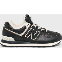 New Balance - Buty ML574WNE. Szare buty sportowe męskie New Balance, z gumy. Za 399.90 zł.