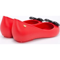 Zaxy - Baleriny. Czerwone baleriny damskie Zaxy, z materiału. W wyprzedaży za 119.90 zł.