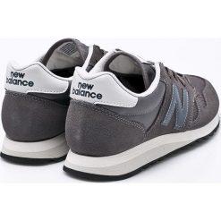 New Balance - Buty U520CL. Szare buty sportowe męskie New Balance, z gumy. W wyprzedaży za 269.90 zł.