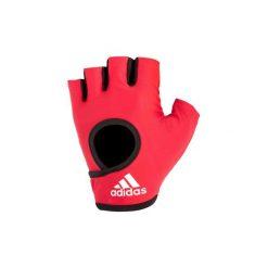 Rękawiczki fitness climalite. Rękawiczki damskie marki Adidas. W wyprzedaży za 34.99 zł.