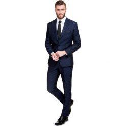 Garnitur LEONARDO GXGS900029. Czarne garnitury męskie Giacomo Conti, moro, z tkaniny. Za 1,898.00 zł.