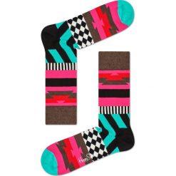 Happy Socks - Skarpety Mix Max. Czarne skarpety męskie Happy Socks, z bawełny. W wyprzedaży za 29.90 zł.