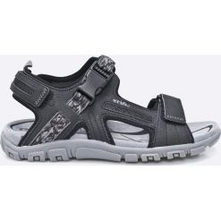 Geox - Sandały. Szare sandały męskie Geox, z materiału. W wyprzedaży za 219.90 zł.