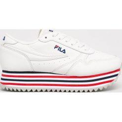 Białe obuwie sportowe damskie Fila Kolekcja wiosna 2020