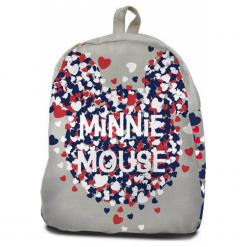 Coriex Myszka Minnie płócienny plecak. Szare torby i plecaki dziecięce Coriex. Za 47.90 zł.