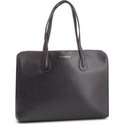 Torebka COCCINELLE - DQ0 Lulin E1 DQ0 11 01 01 Noir 001. Czarne torebki do ręki damskie Coccinelle, ze skóry. Za 1,149.90 zł.
