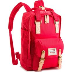 Plecak DOUGHNUT -  D010-0095-F  Macaroon/Rasberry. Czerwone plecaki damskie Doughnut, z materiału. Za 349.00 zł.