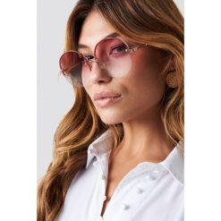 Le Specs Okulary przeciwsłoneczne Say My Name - Pink. Różowe okulary przeciwsłoneczne damskie Le Specs. Za 283.95 zł.