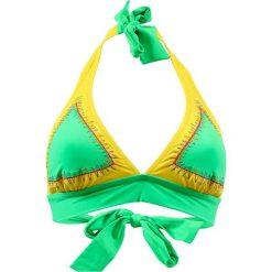 """Biustonosz bikini """"Manzana"""" w kolorze żółto-zielonym. Biustonosze Val d´Azur. W wyprzedaży za 217.95 zł."""