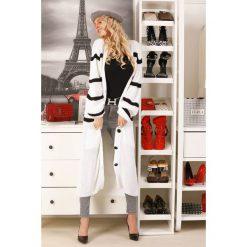 Długi sweter Kardigany damskie Kolekcja wiosna 2020