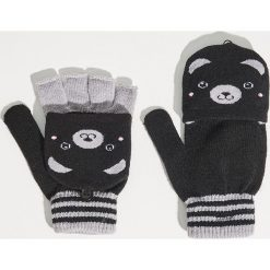 Rękawiczki - Czarny. Czarne rękawiczki damskie Sinsay. Za 19.99 zł.
