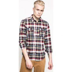 Medicine - Koszula Academic Scout. Szare koszule męskie MEDICINE, z bawełny, z klasycznym kołnierzykiem, z długim rękawem. W wyprzedaży za 59.90 zł.