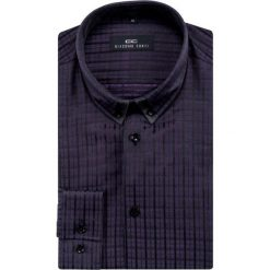 Koszula ALONSO M KDFE000036. Fioletowe koszule męskie Giacomo Conti, z bawełny, button down, z długim rękawem. Za 129.00 zł.