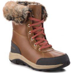 Śniegowce COLUMBIA - Bangor Omni Heat BL2743 Elk/Rusty 286. Brązowe kozaki damskie Columbia, z materiału. Za 749.99 zł.