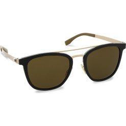Okulary przeciwsłoneczne BOSS - 0838/S Mtbk/Mtgold 72Y. Czarne okulary przeciwsłoneczne damskie Boss. W wyprzedaży za 679.00 zł.