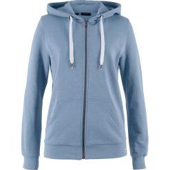 Bluza rozpinana bonprix matowy niebieski. Bluzy damskie marki MAKE ME BIO. Za 37.99 zł.