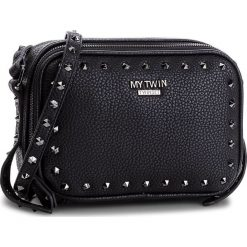 Torebka MY TWIN - Tracolla C/Zip VA8PAE  Nero 00006. Czarne torebki do ręki damskie My Twin, ze skóry ekologicznej. Za 649.00 zł.